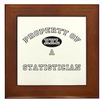 Property of a Statistician Framed Tile