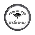 Property of a Statistician Wall Clock