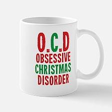 OCD Obessive Christmas Disorder Mugs