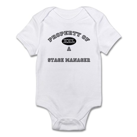 Property of a Stage Manager Infant Bodysuit