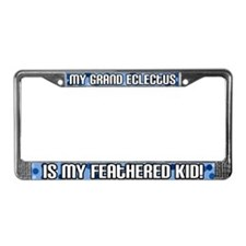 Grand Eclectus Feathered Kid License Plate Frame