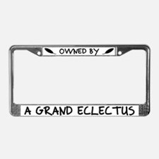 Owned by Grand Eclectus License Plate Frame