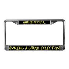 HI Owning Grand Eclectus License Plate Frame