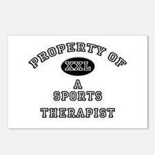 Property of a Sports Therapist Postcards (Package