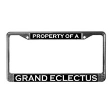 Property of Grand Eclectus License Plate Frame