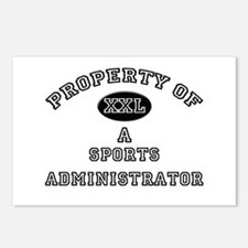 Property of a Sports Administrator Postcards (Pack