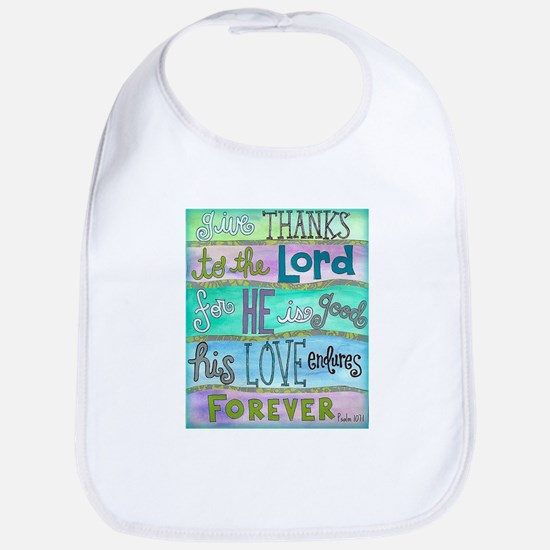 Give Thanks To The Lord Bib