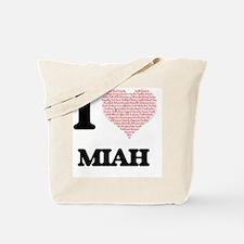 Cute Miah Tote Bag