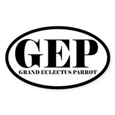 GEP Abbreviated Grand Eclectus Oval Decal
