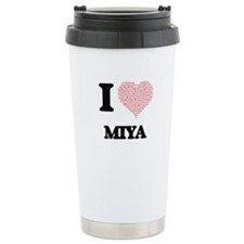 I love Miya (heart made Travel Mug