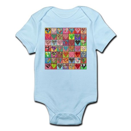 Sale: Heart Quilt Infant Creeper