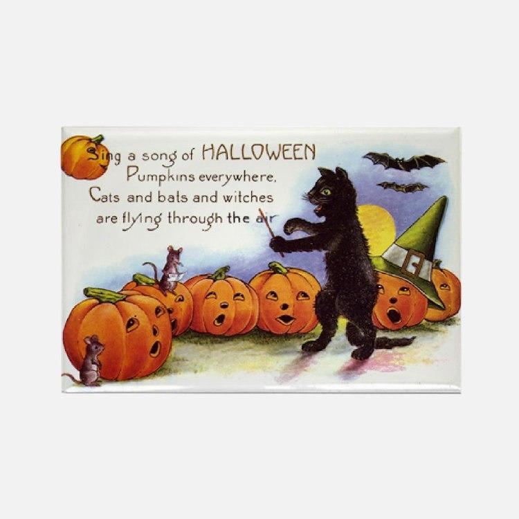 Halloween Nineteen Store Rectangle Magnet