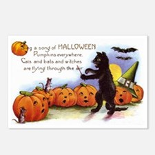 Halloween Nineteen Store Postcards (Package of 8)