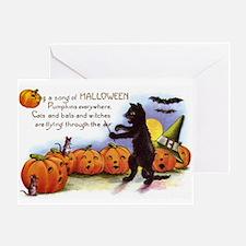Halloween Nineteen Store Greeting Card