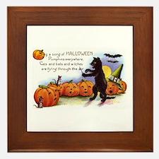Halloween Nineteen Store Framed Tile