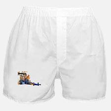 Flaming Top Fuel Boxer Shorts