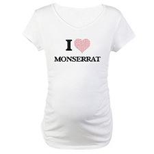 I love Monserrat (heart made fro Shirt