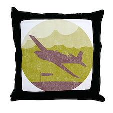 Fly Pass Throw Pillow