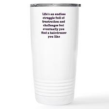 Unique Barber school Travel Mug
