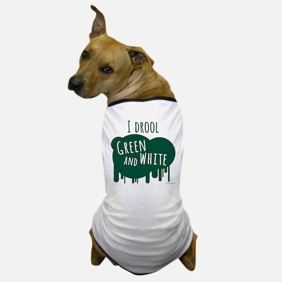 IDroolOrangeWhite.png Dog T-Shirt