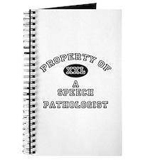 Property of a Speech Pathologist Journal