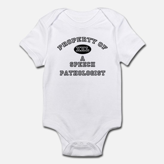 Property of a Speech Pathologist Infant Bodysuit
