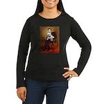 Lincoln's English Bulldog Women's Long Sleeve Dark