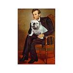Lincoln's English Bulldog Rectangle Magnet (10 pac