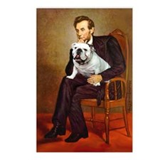Lincoln's English Bulldog Postcards (Package of 8)