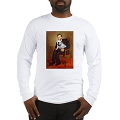 Lincoln's English Bulldog Long Sleeve T-Shirt