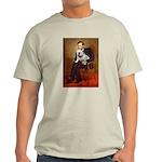 Lincoln's English Bulldog Light T-Shirt