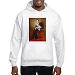 Lincoln's English Bulldog Hooded Sweatshirt