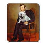 Lincoln's English Bulldog Mousepad