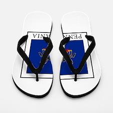 Pennsylvania Flip Flops