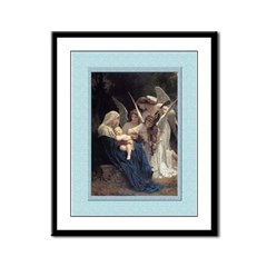 Song of the Angels-Bouguereau- 9x12 Framed Print