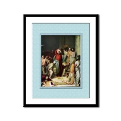 Cleansing the Temple-Bloch-9x12 Framed Print