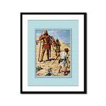 David and Goliath-Brock-9x12 Framed Print