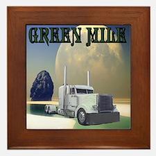 Green Mile Framed Tile