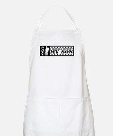 Proudly Support Son - NAVY BBQ Apron