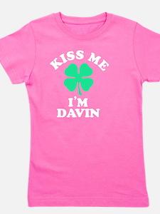Cute Davin Girl's Tee