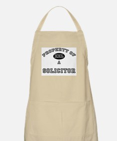 Property of a Solicitor BBQ Apron