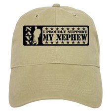 Proudly Support Nephew - NAVY Baseball Cap