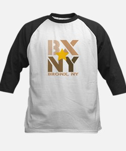 BX, Bronx Brown Kids Baseball Jersey