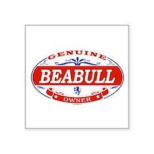 """Cute Beabull Square Sticker 3"""" x 3"""""""