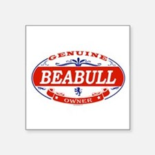 "Funny Beabull dog Square Sticker 3"" x 3"""