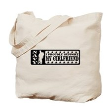 Proudly Support GF - NAVY Tote Bag