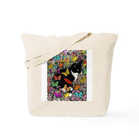 Freckles in Butterflies Tote Bag
