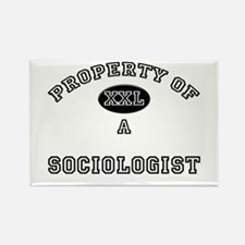 Property of a Sociologist Rectangle Magnet