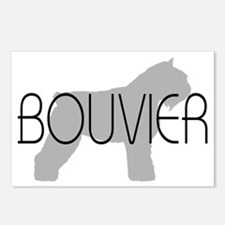 Bouvier Dog Postcards (Package of 8)