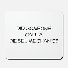 Diesel Mechanic Mousepad